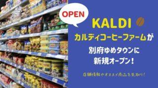 カルディゆめタウン別府店がオープン☆混雑状況や人気商品をチェック!