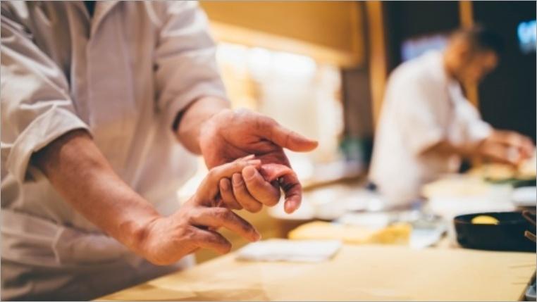 4位:寿司ネタは肉厚なアレ…
