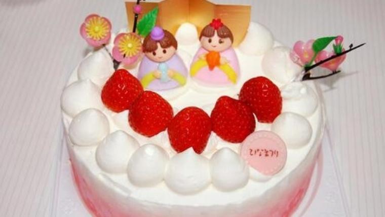 2021年のひな祭りはケーキでお祝いを!