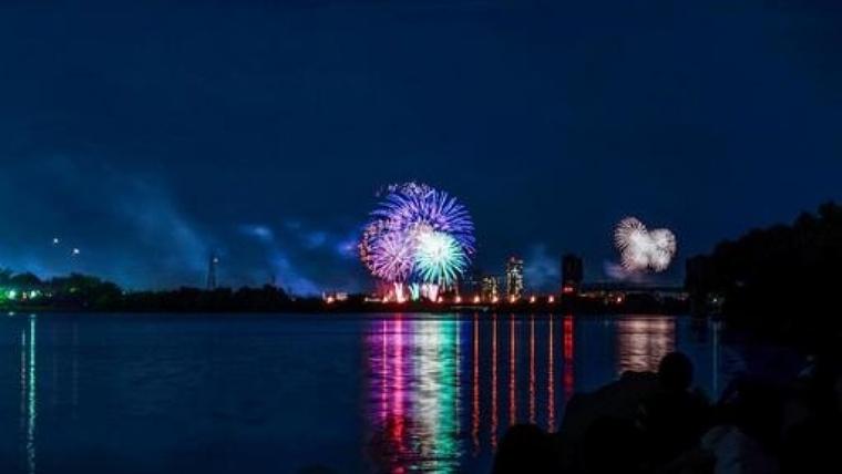 亀川祭りは地元民が楽しみにする夏のイベント